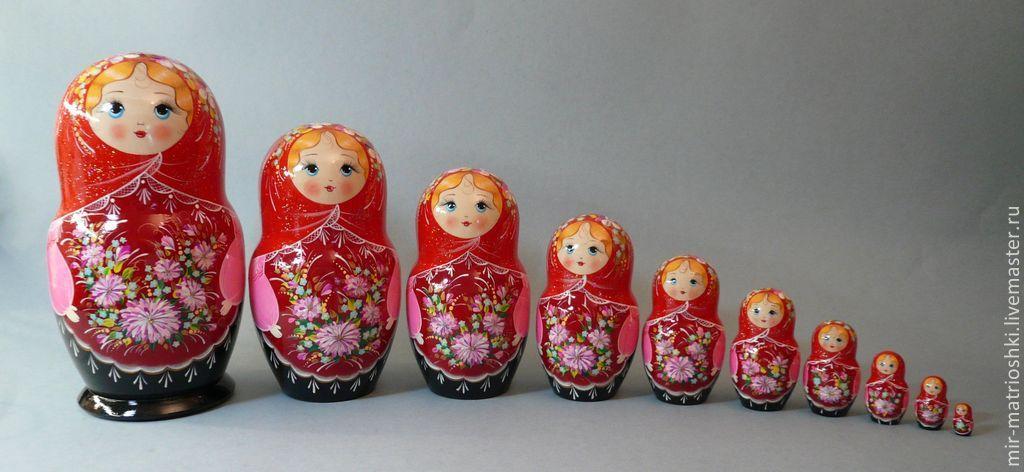 Матрёшка 10 местная, Матрешки, Саров, Фото №1
