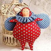 Куклы и игрушки ручной работы. Ярмарка Мастеров - ручная работа Тильда жучок позитивный. Handmade.
