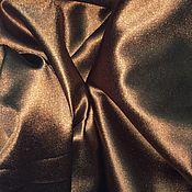 Для дома и интерьера handmade. Livemaster - original item Curtain fabric chocolate - colored, made-to-order Curtains to your size. Handmade.