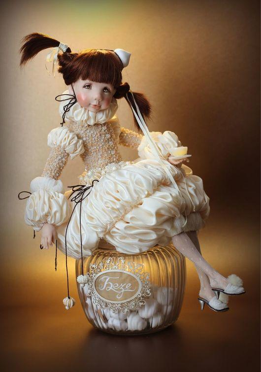 Коллекционные куклы ручной работы. Заказать Безе. Тимофеева Ольга. Ярмарка Мастеров. Кукла ручной работы, милая кукла, ЛивингДолл