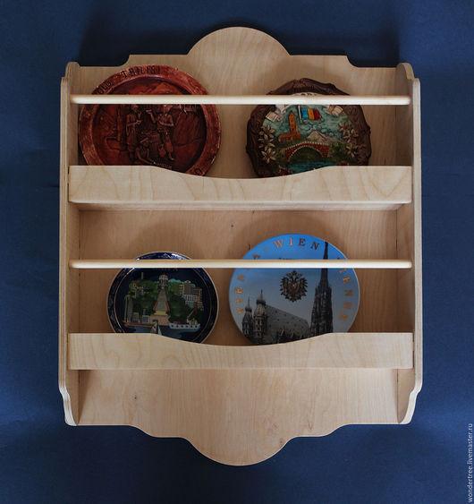Мебель ручной работы. Ярмарка Мастеров - ручная работа. Купить полка для посуды. Handmade. Бежевый, полка для кухни, полка деревянная