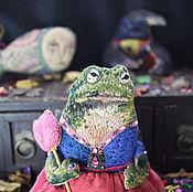 Куклы и игрушки ручной работы. Ярмарка Мастеров - ручная работа Жаба - инфанта Мария Франсишка де Браганса. Handmade.