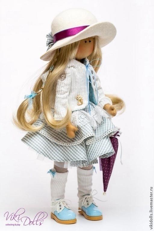 Коллекционные куклы ручной работы. Ярмарка Мастеров - ручная работа. Купить Кукла-Тильда Катерина. Handmade. Белый, подарок на новый год