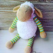 Куклы и игрушки ручной работы. Ярмарка Мастеров - ручная работа Игрушка Овечка. Handmade.