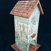 Для дома и интерьера handmade. Livemaster - original item Tea house,Russian tea, box of tea. Handmade.