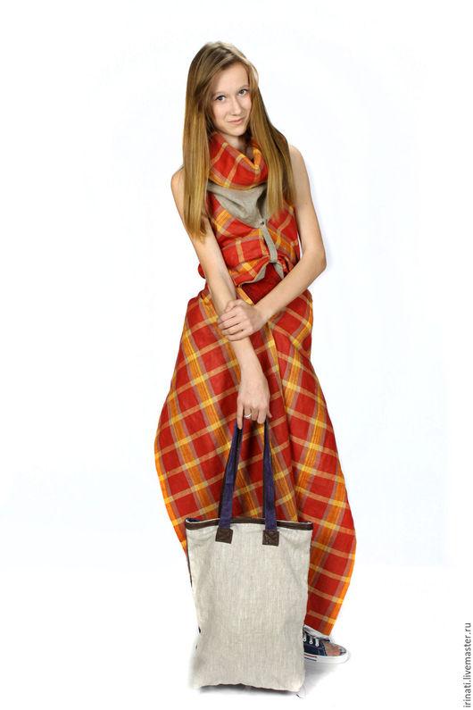 Костюмы ручной работы. Ярмарка Мастеров - ручная работа. Купить Комплект шарф-туника и брюки. Handmade. Комбинированный, Трансформер