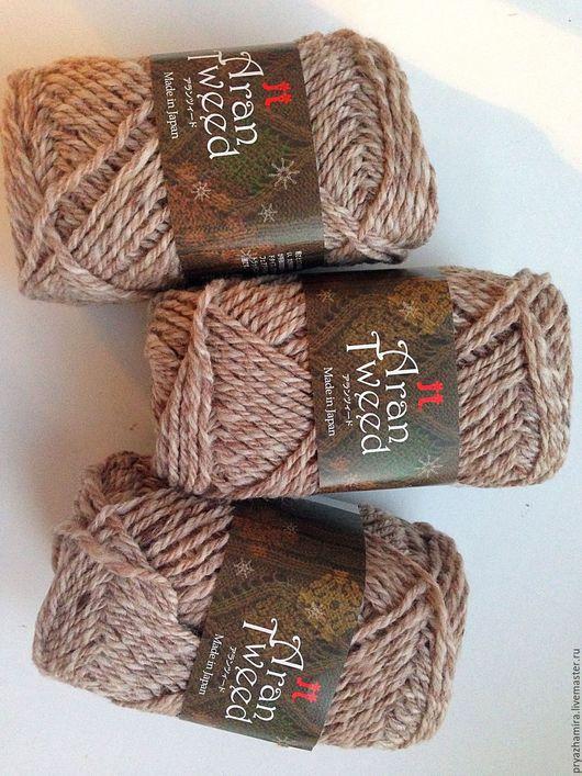 Вязание ручной работы. Ярмарка Мастеров - ручная работа. Купить Пряжа Aran Tweed. Тон :2  (Япония). Handmade. Твид