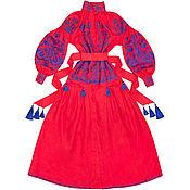 "Одежда handmade. Livemaster - original item Coral dress ""Arabian horseman"". Handmade."