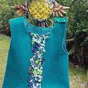 Материалы для творчества handmade. Livemaster - original item Master-class on creating children`s vest with sophisticated decor.. Handmade.