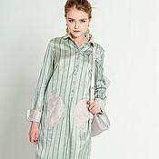 Одежда ручной работы. Ярмарка Мастеров - ручная работа Ирландский полдник - хлопковое платье. Handmade.