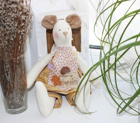 Куклы Тильды ручной работы. Ярмарка Мастеров - ручная работа. Купить Волшебная денежная мышка. Handmade. Бежевый, тильда мышка