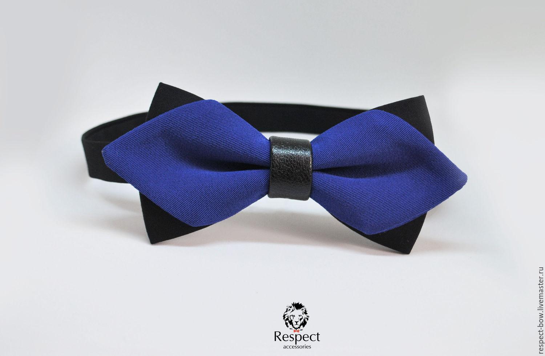 Tie blue Mod / bow tie blue, wedding blue, Ties, Moscow,  Фото №1