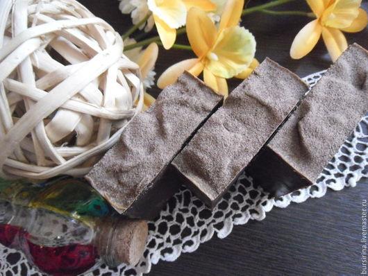 Мыло ручной работы. Ярмарка Мастеров - ручная работа. Купить CHOKEBERRY натуральное мыло с глиной рассул и черноплодной рябиной. Handmade.