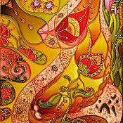 Картины и панно ручной работы. Ярмарка Мастеров - ручная работа Семя жизни. Handmade.