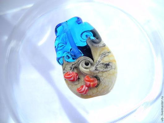 Для украшений ручной работы. Ярмарка Мастеров - ручная работа. Купить Бусины из муранского стекла ручной работы, бусины лэмпворк. Handmade.