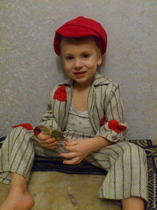 Детские карнавальные костюмы ручной работы. Ярмарка Мастеров - ручная работа. Купить Стиляга. Handmade. Серый, костюмная ткань