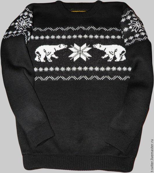 Тату-свитер - Полярные медведи (вариант 1)