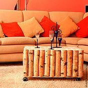 Столы ручной работы. Ярмарка Мастеров - ручная работа Стол из березовых брусьев. Handmade.