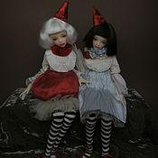 Куклы и игрушки ручной работы. Ярмарка Мастеров - ручная работа Мой маленький клоун пу Предзаказ!. Handmade.