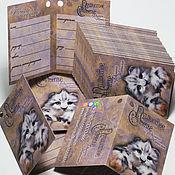 """Этикетки ручной работы. Ярмарка Мастеров - ручная работа Паспорт игрушки, паспорт изделия в форме """"книжечки"""". Handmade."""