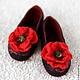 Обувь ручной работы. Ярмарка Мастеров - ручная работа. Купить Тапочки из войлока. Handmade. Черный, женская одежда, валяние из шерсти