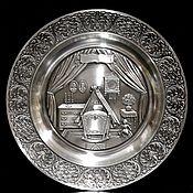 Винтаж handmade. Livemaster - original item Decorative tin plate