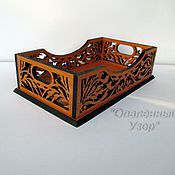 Для дома и интерьера handmade. Livemaster - original item Tray for small items. Handmade.