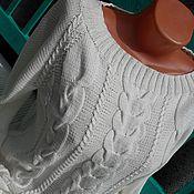 Одежда ручной работы. Ярмарка Мастеров - ручная работа Свитер Пломбир.. Handmade.