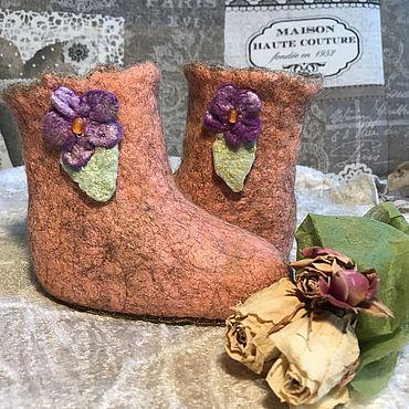Обувь ручной работы. Ярмарка Мастеров - ручная работа Угги: домашние,детские. Handmade.