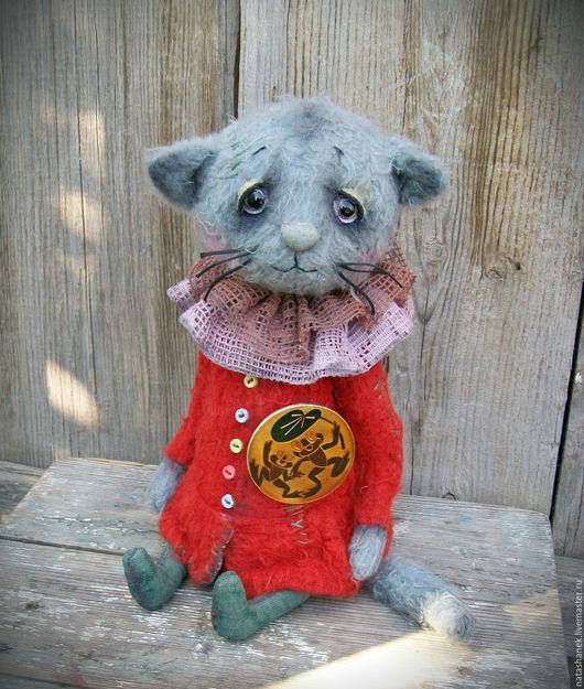 Мишки Тедди ручной работы. Ярмарка Мастеров - ручная работа. Купить Котенок тедди Муся. котенок тедди котик тедди. Handmade.