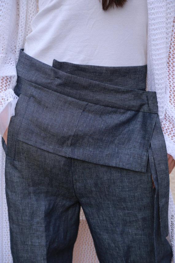Купить брюки из льна доставка