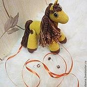 Куклы и игрушки ручной работы. Ярмарка Мастеров - ручная работа Лошадка Маруся. Handmade.