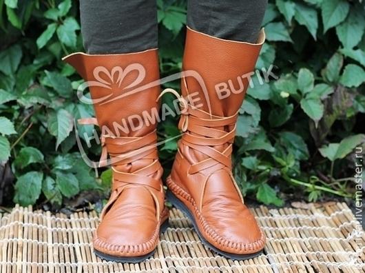 Хит сезона! Осень-весна.  Стильные сапоги-мокасины - удобная и комфортная обувь для повседневного ношения.