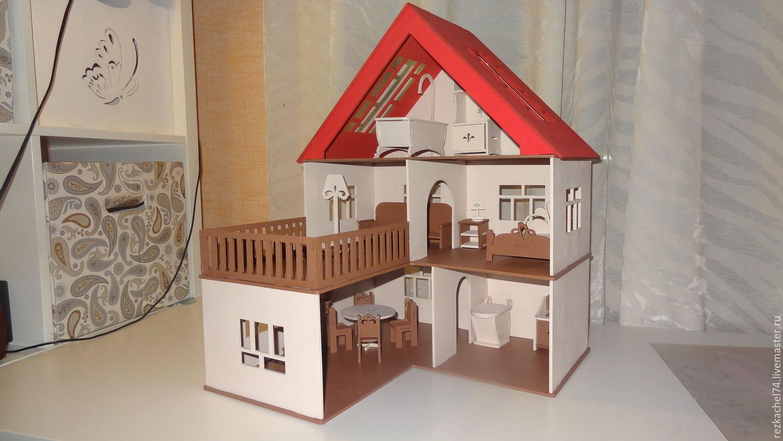 Кукольный домик из фанеры своими 83