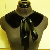 Аксессуары handmade. Livemaster - original item Velvet collar. Handmade.