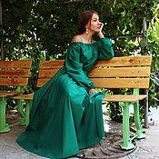 handmade. Livemaster - original item Floor-length dress
