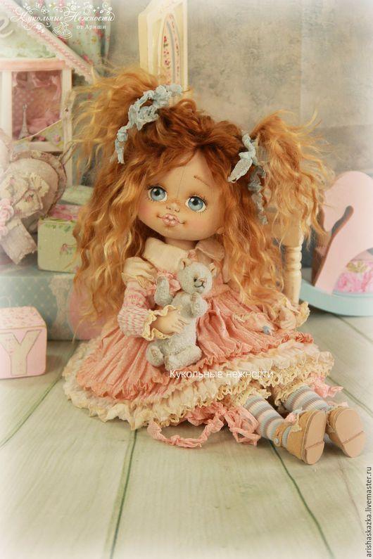 Коллекционные куклы ручной работы. Ярмарка Мастеров - ручная работа. Купить Груня . Кукла авторская текстильная art doll. Handmade.