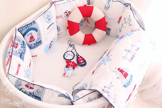 Детская ручной работы. Ярмарка Мастеров - ручная работа. Купить Бортики в кроватку. Handmade. Бортики в кроватку, бортики в детскую кровать