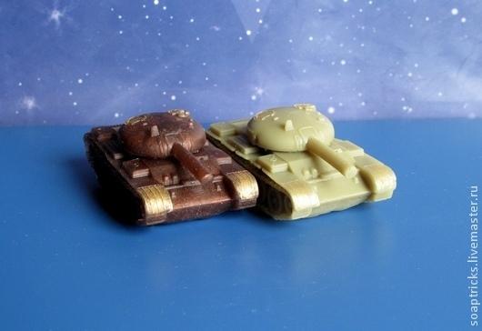 Мыло ручной работы. Ярмарка Мастеров - ручная работа. Купить Мыло Танк2. Handmade. Хаки, мыло танк, 23 февраля