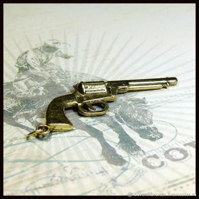 """Брелок для ключей """"Кольт"""""""