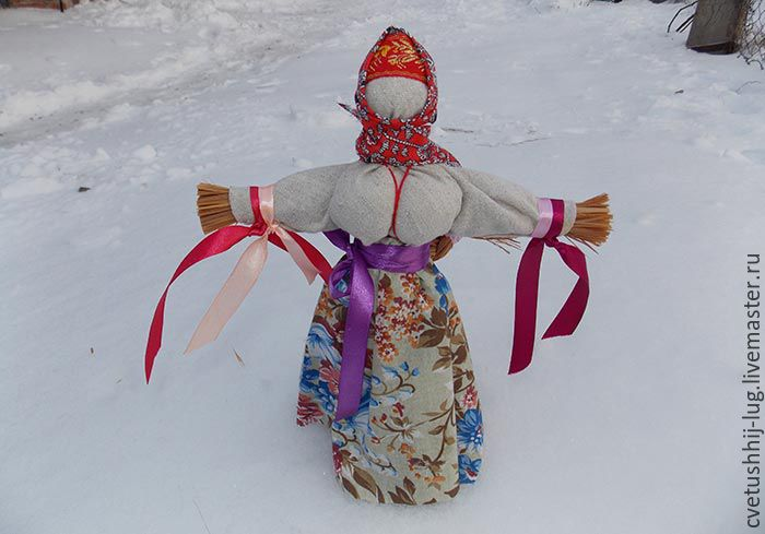 Mardi Gras doll is a talisman for the house of bast, Doll amulet, Kaluga,  Фото №1