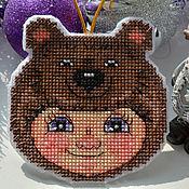 Сувениры и подарки handmade. Livemaster - original item Christmas toy bear Costume. Handmade.