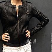 Одежда handmade. Livemaster - original item Jacket from natural Python skin. Handmade.