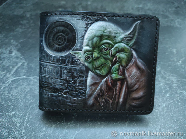 Портмоне (кошелек, бумажник) двойного сложения (Bi-fold wallet) № 49, Кошельки, Ковров,  Фото №1