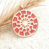 Фен-шуй и эзотерика handmade. Livemaster - original item Navier Sun,Slavic charms charms enamel. Handmade.