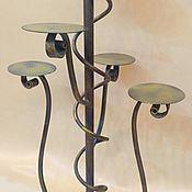 Для дома и интерьера handmade. Livemaster - original item stand for flowers, wrought iron. Handmade.