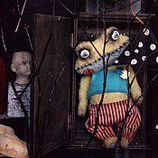 """Куклы и игрушки ручной работы. Ярмарка Мастеров - ручная работа Тедди лягушка """"Ваал.Ночной кошмар из шкафа"""". Handmade."""