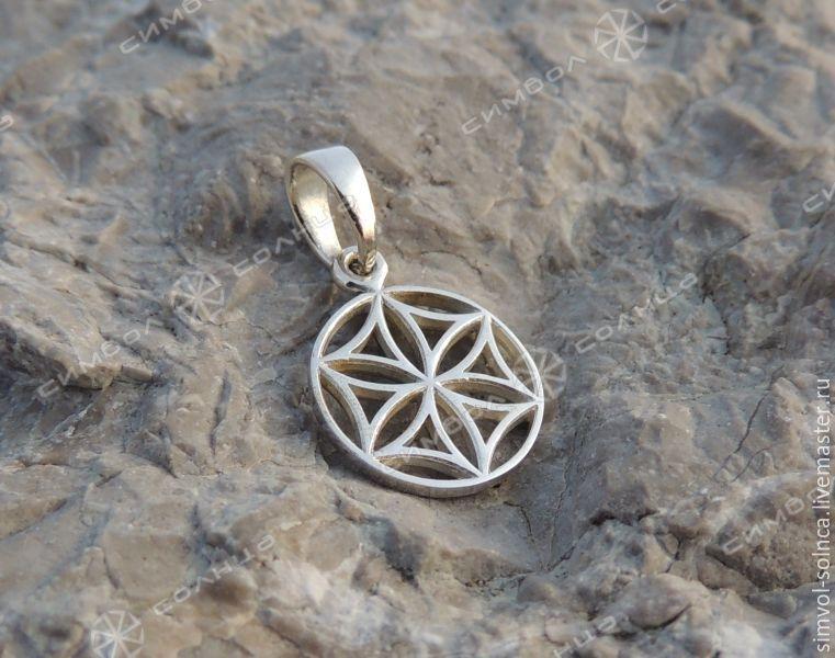 Amulet ' Thunder wheel, Flower of Life, Seed of Life', Folk decorations, Sochi,  Фото №1