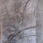 Картины и панно ручной работы. Ярмарка Мастеров - ручная работа Ветви сосны. Handmade.