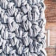 Текстиль, ковры ручной работы. Ярмарка Мастеров - ручная работа. Купить Вязаный ковёр. Handmade. Серый, вязаный коврик